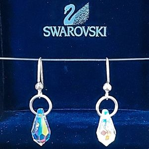💎 SWAROVSKI CRYSTAL EARRINGS NWT